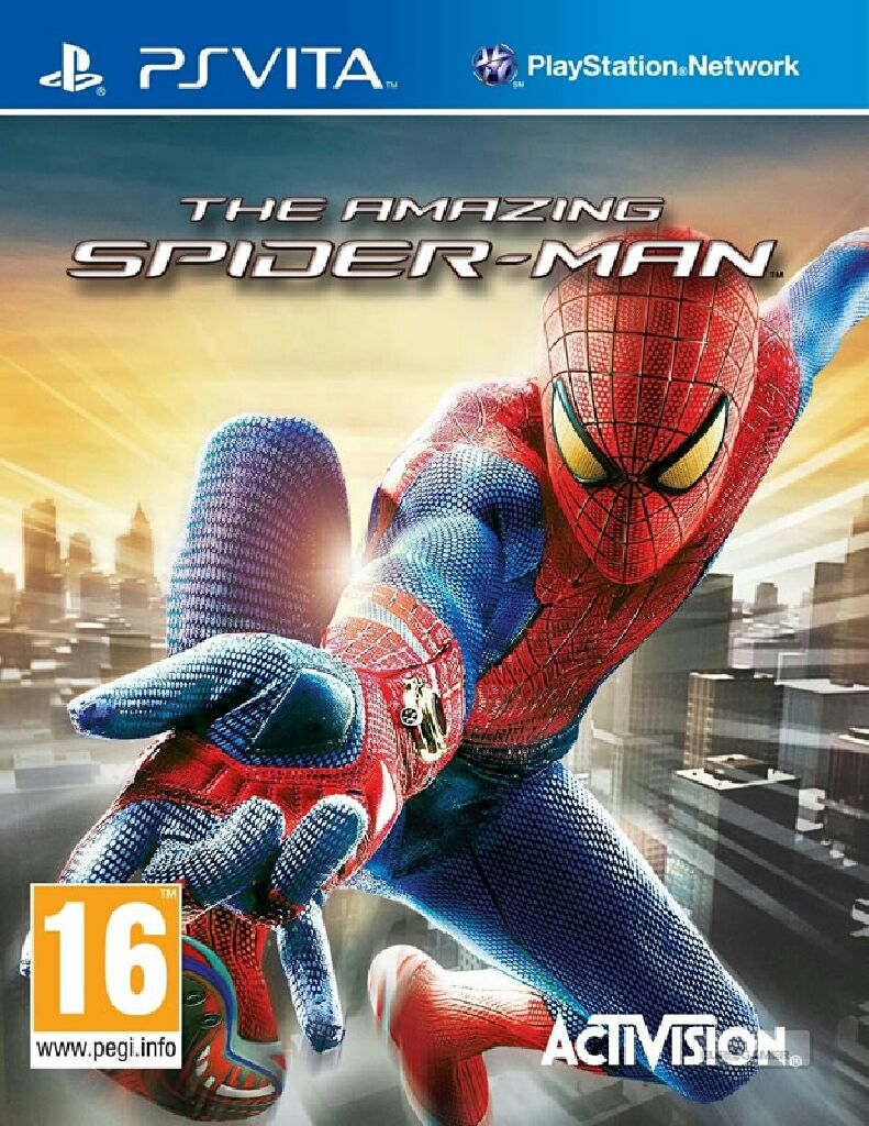The Amazing Spider-Man - PS Vita cover