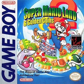 Super Mario Land 2: 6 Golden Coins - Game Boy cover
