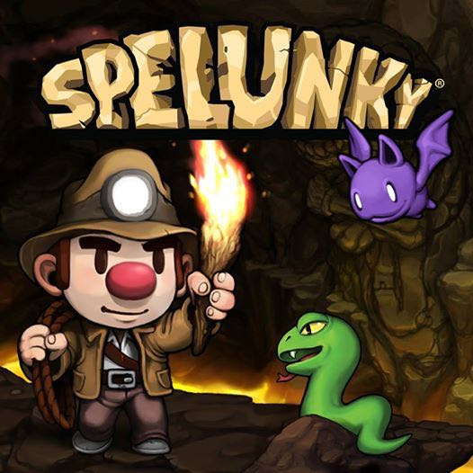 Spelunky - PS4 cover