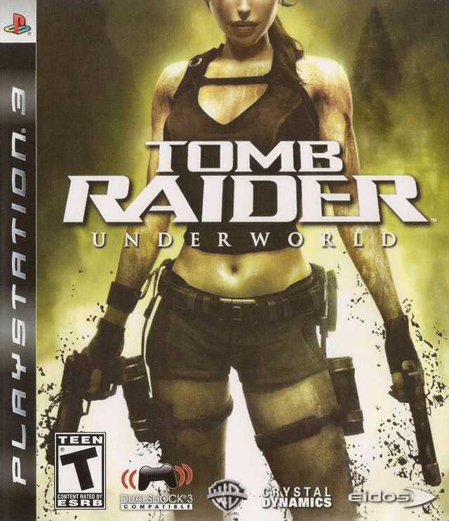Tomb Raider: Underworld - PS3 cover