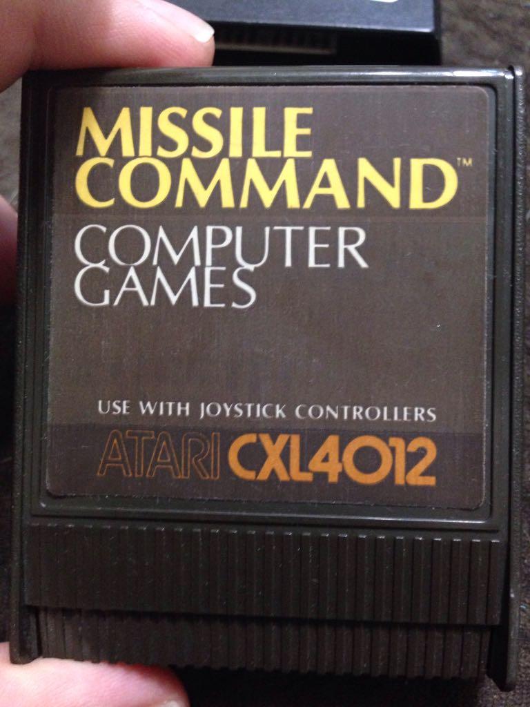 Missle Command - Atari 2800 cover