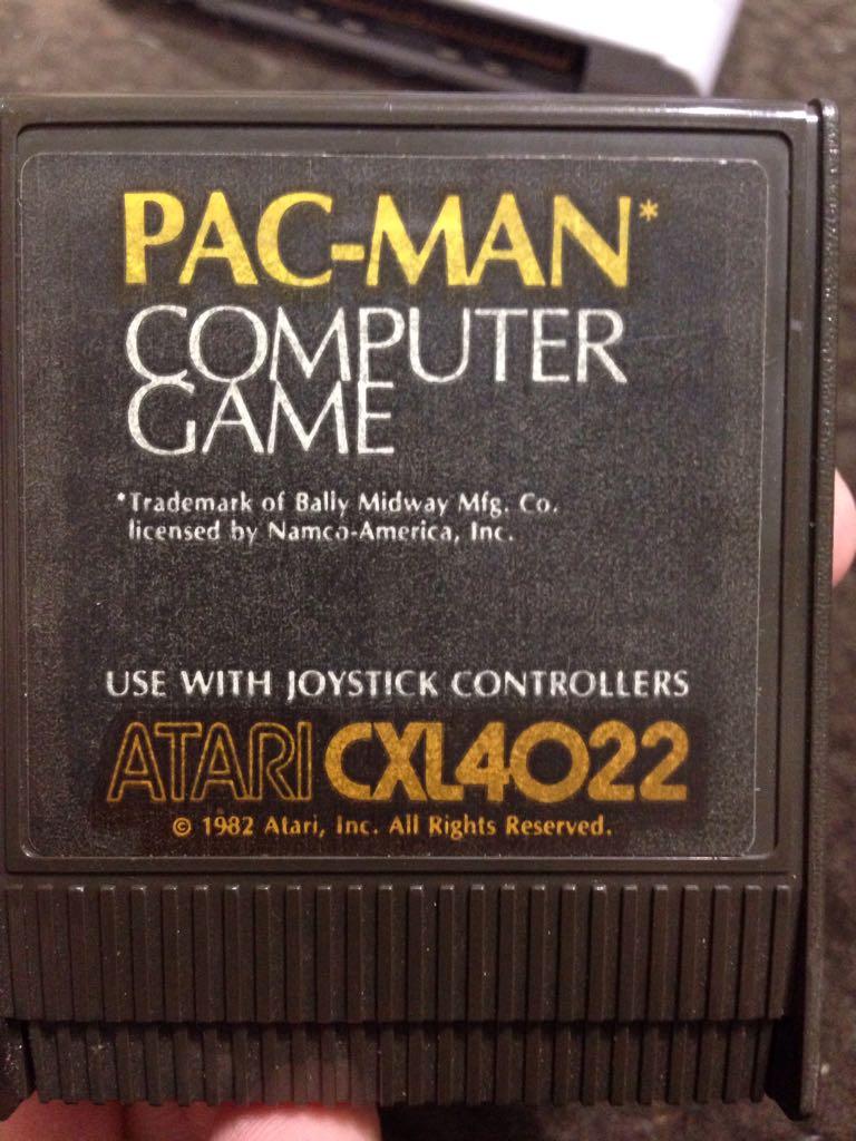 Pac-Man - Atari 2800 cover