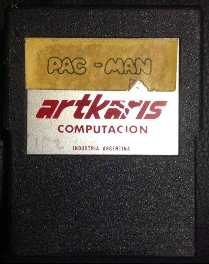 Pac-Man - Atari XEGS cover