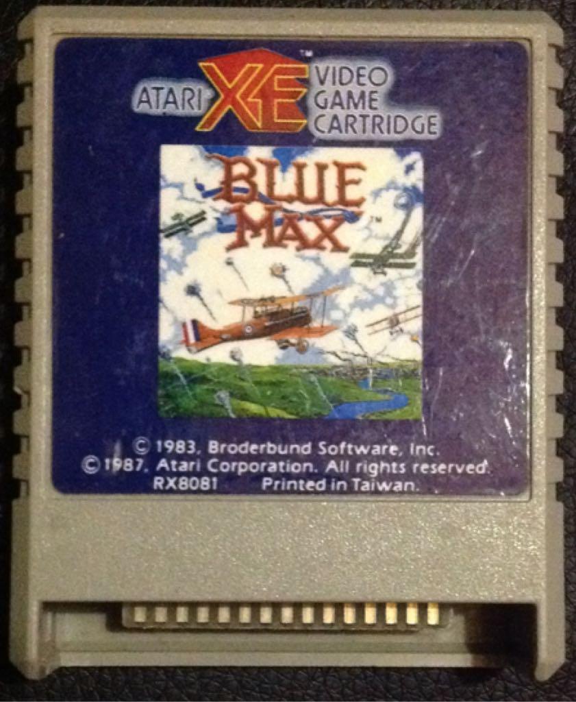 Blue Max - Atari XEGS cover