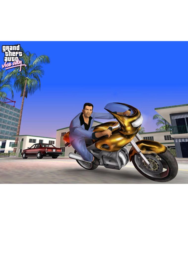 Grand Theft Auto - Apple iPhone/iPod Touch cover