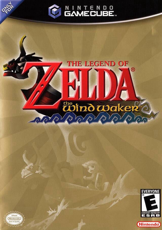 The Legend of Zelda: The Wind Waker - Wii cover