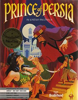 Prince of Persia - Commodore 64 cover