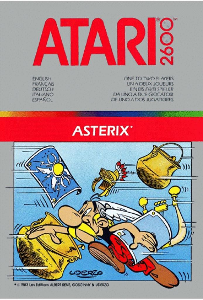 Asterix - Atari 2600 cover