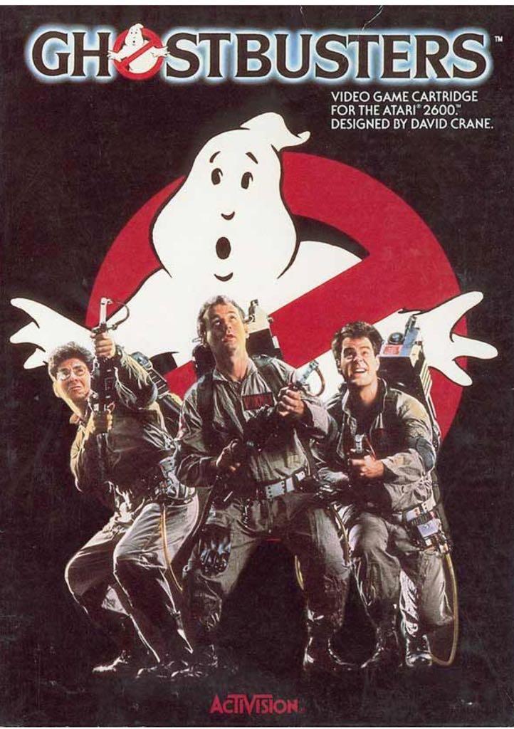 Ghostbusters - Atari 2600 cover