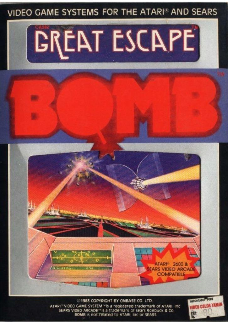 GREAT ESCAPE - Atari 2600 cover