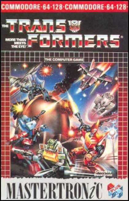 TRANSFORMERS - Commodore 64 cover