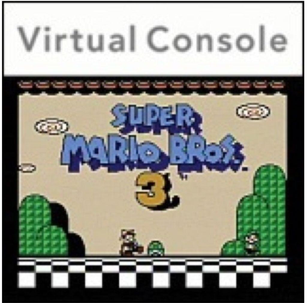 Super Mario Bros. 3 - 3DS Virtual Console cover
