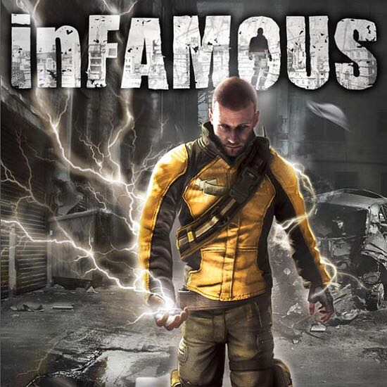 Infamous - PS4 cover