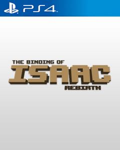 The Binding Of Isaac: Rebirth - PS4 cover