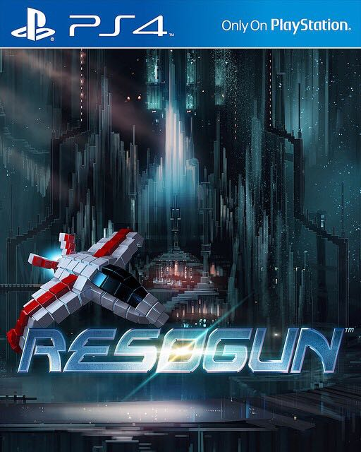 Resogun - PS4 cover