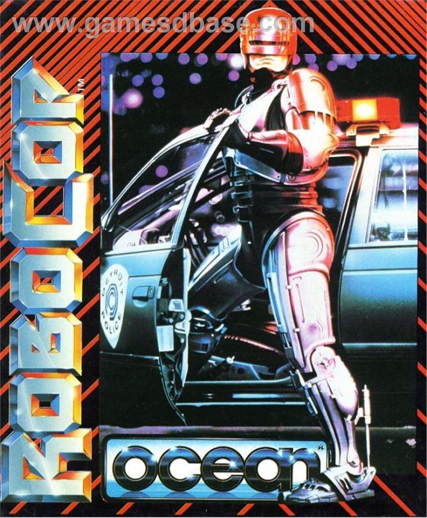 ROBOCOP - Commodore 64 cover