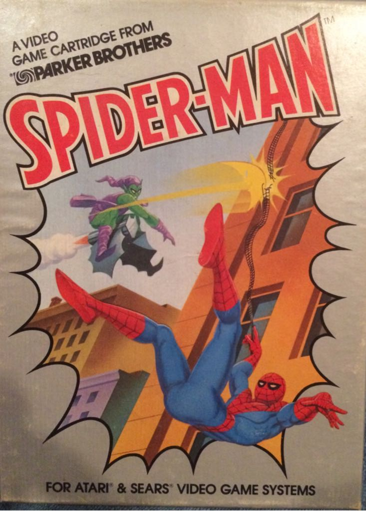 SPIDERMAN  - Intellivision cover