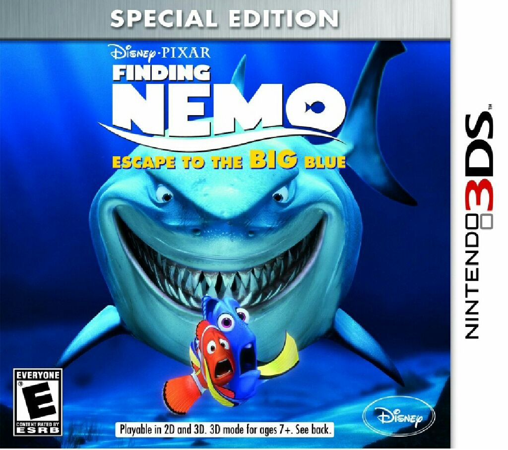 Finding Nemo - 3DS cover