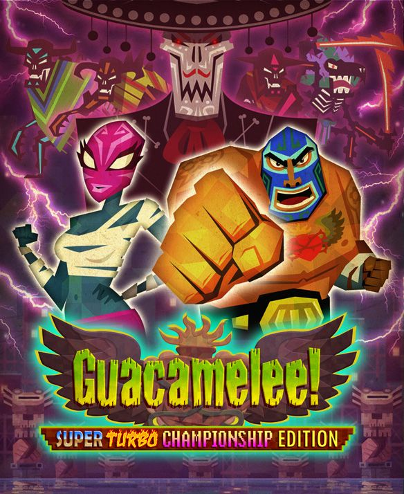 Guacamelee - Super Turbo Championship Edition - Xbox One cover