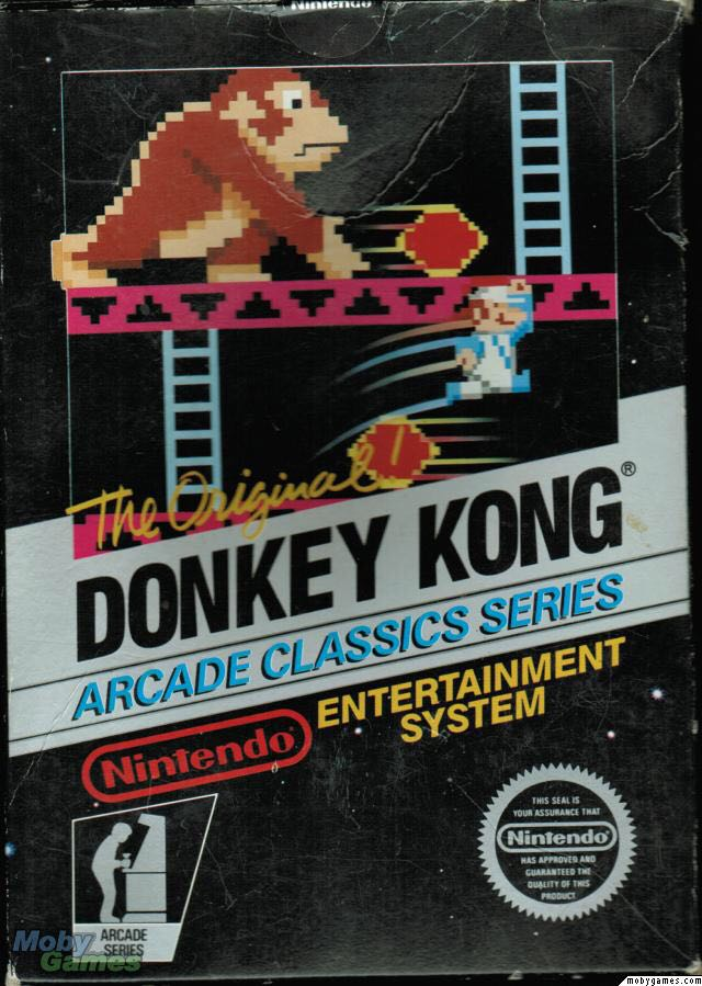 Donkey Kong - NES cover