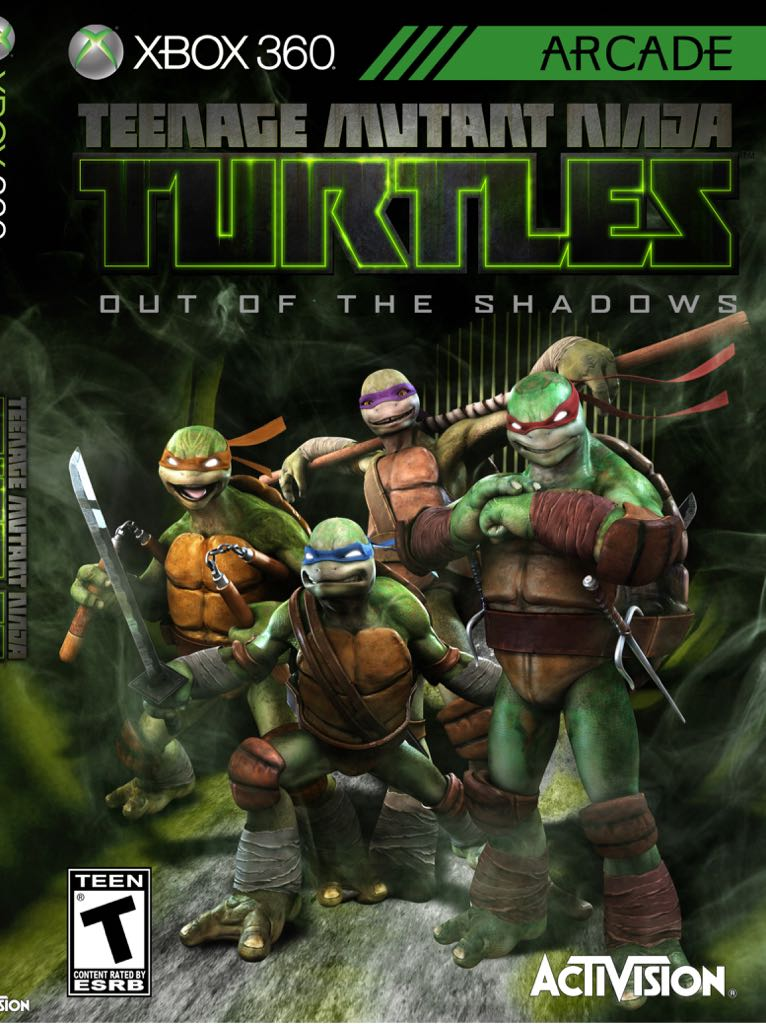 tmnt out of the shadows game xbox one