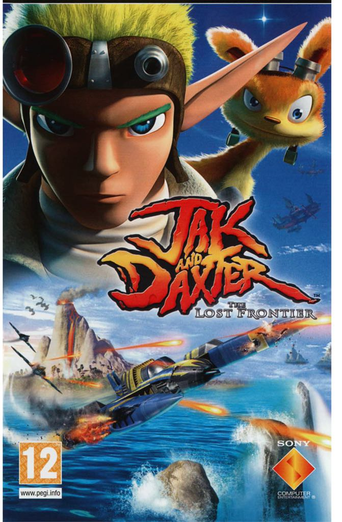 Jak and Daxter: The Lost Frontier - PS Vita cover
