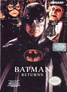 Batman Returns - NES cover