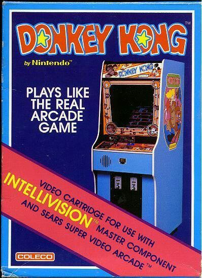 Donkey Kong - Intellivision cover