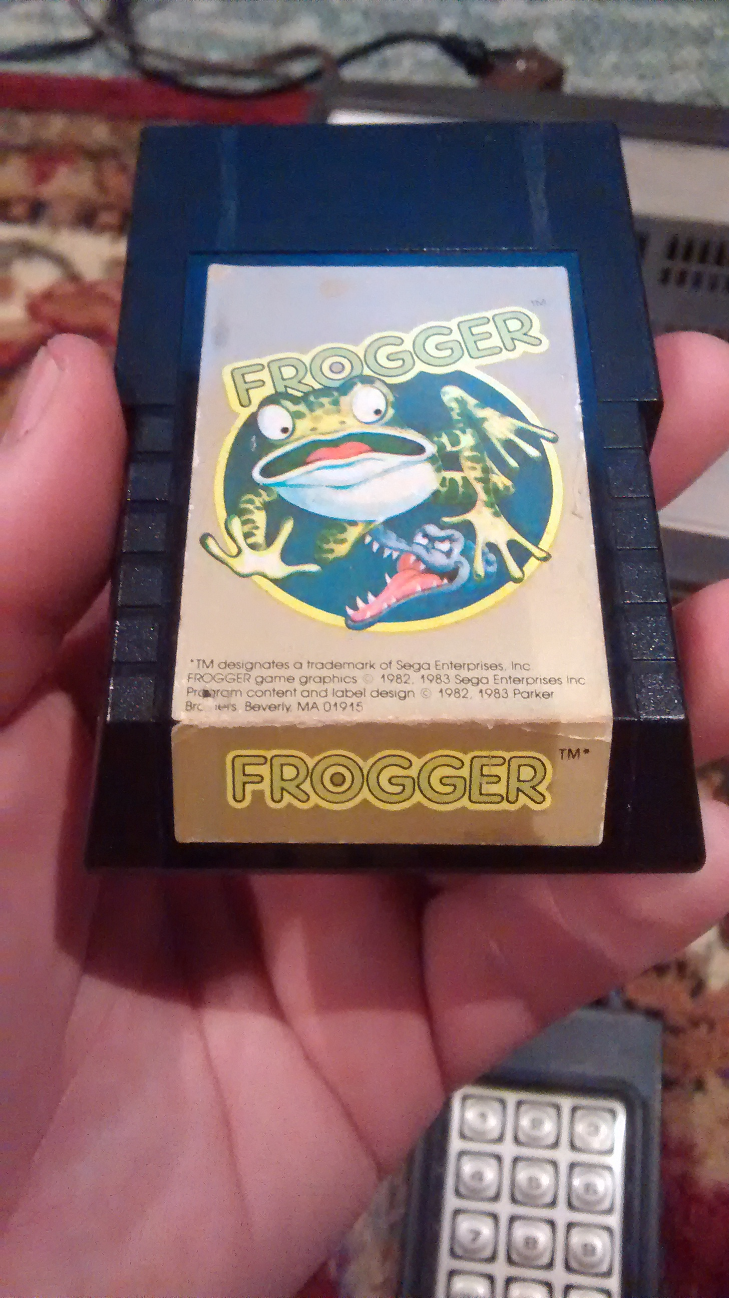 Frogger - Intelivision cover