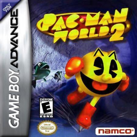 Pac-Man World 2 - Game Boy Advance cover