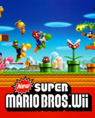 New Super Mario Bros. Wii - Wii cover