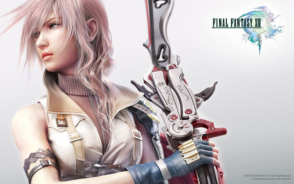 Final Fantasy XIII - PC cover