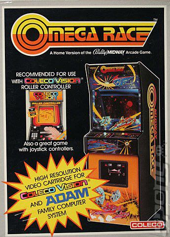 Omega Race - Colecovision cover