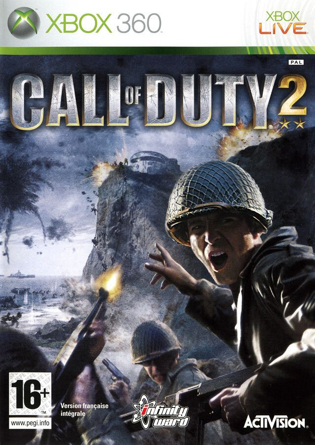 CALL OF DUTY 2 - Xbox Live cover
