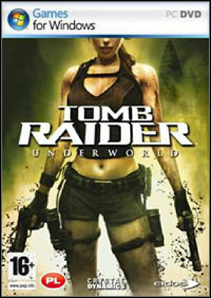 Tomb Raider: Underworld - PC cover