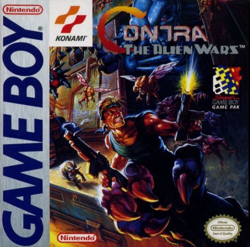 Contra: The Alien Wars - Game Boy cover