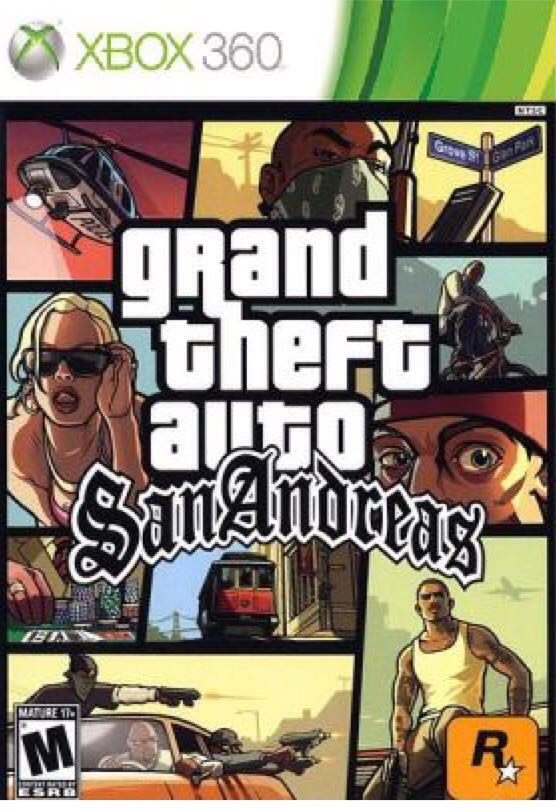 Grand Theft Auto: San Andreas - Xbox Live Arcade cover