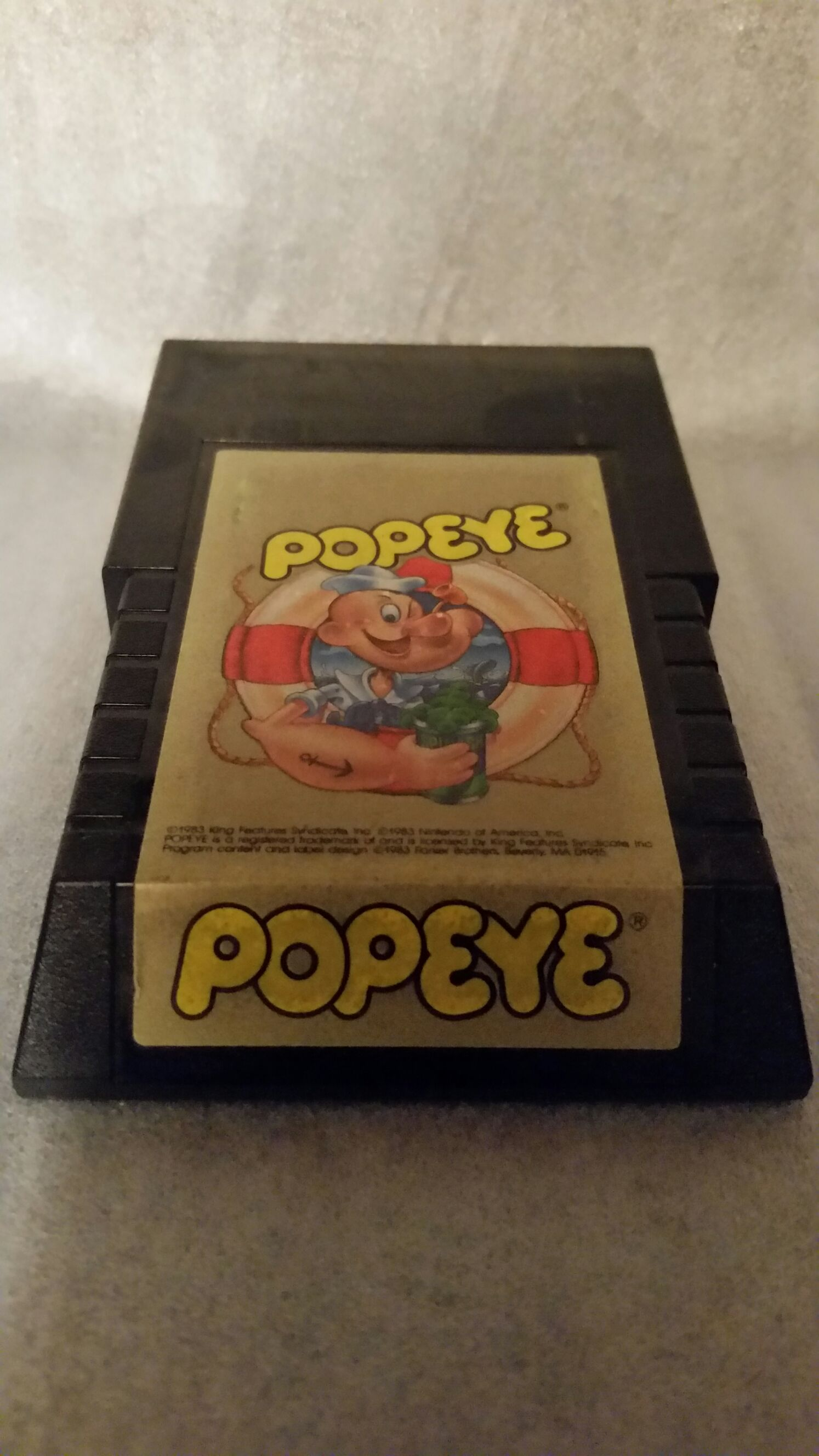 Popeye - Intelivision cover