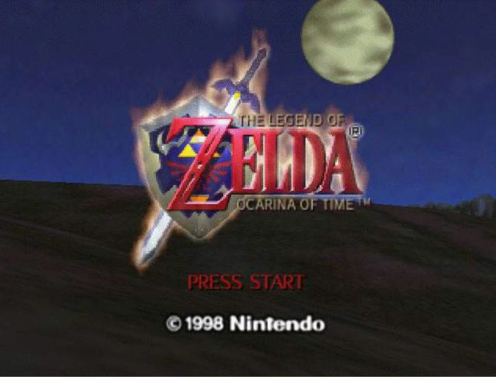 The Legend of Zelda: Ocarina of Time - Wii U Virtual Console cover