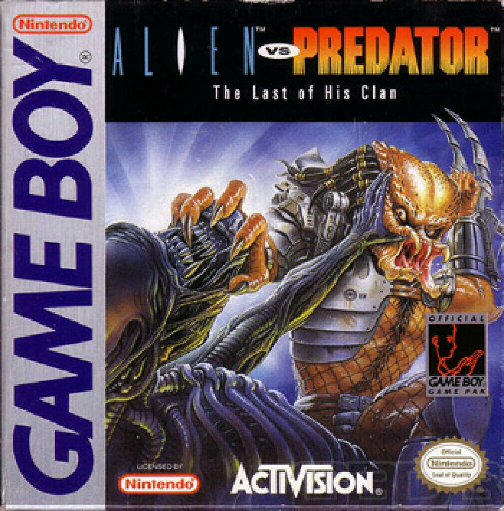 Alien vs Predator - Game Boy cover