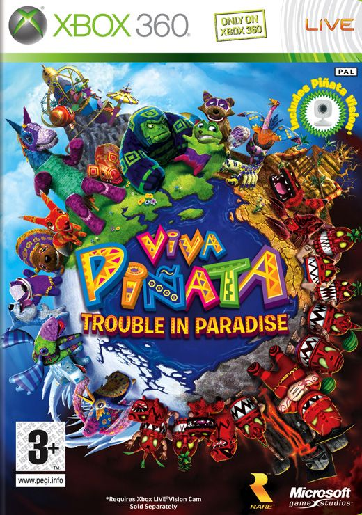 Viva Pinata: Trouble in Paradise - Xbox One cover