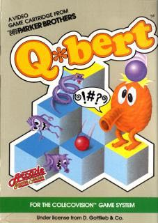 Q-Bert - Colecovision cover