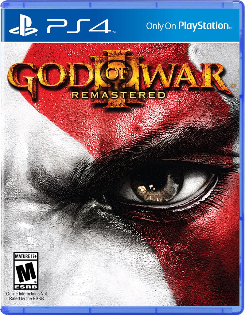 God of War 3 - PS4 cover