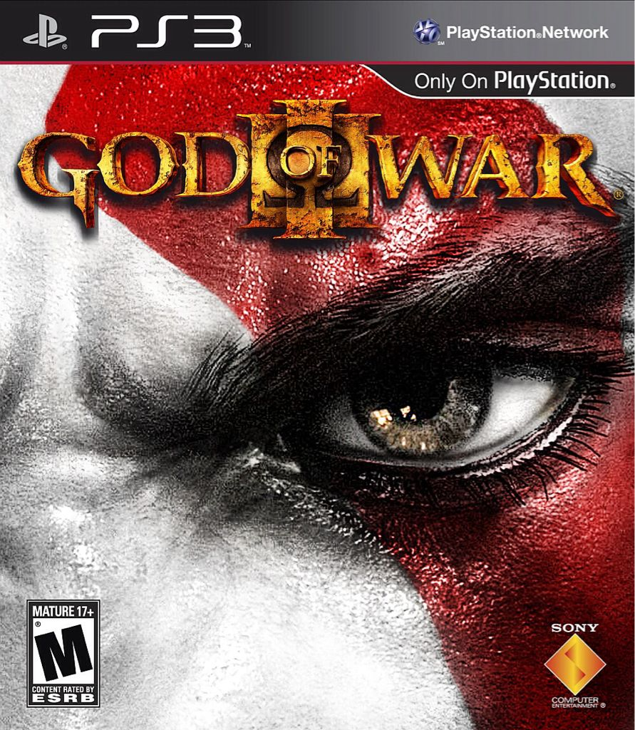 God of War 3 - Wii cover