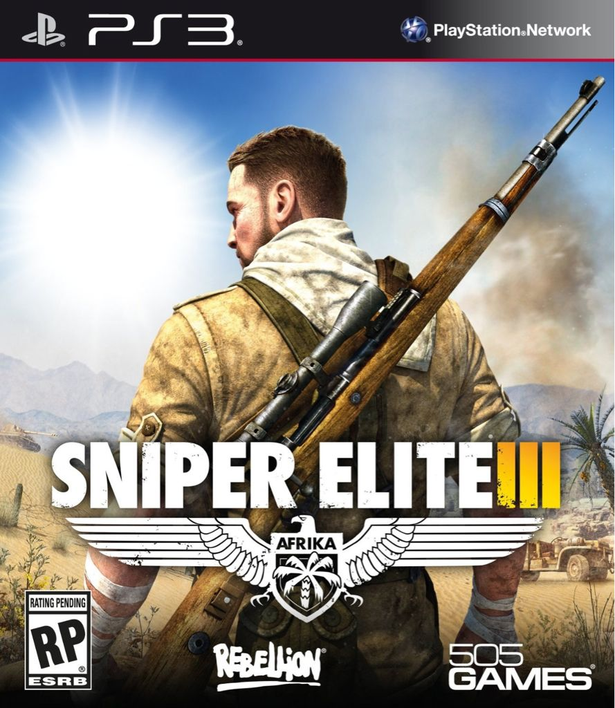 Sniper Elite - 3DS cover