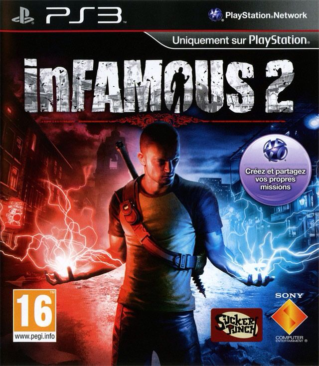 Infamous - Xbox 360 cover