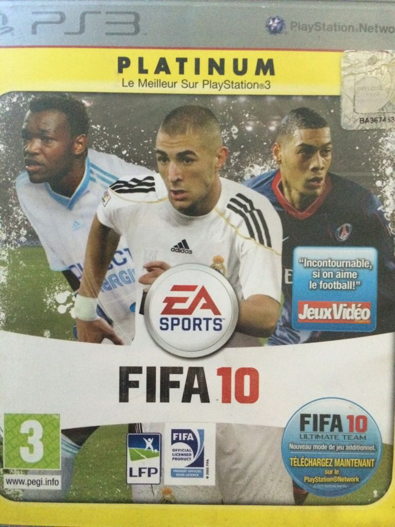 FIFA 10 - PS3 cover