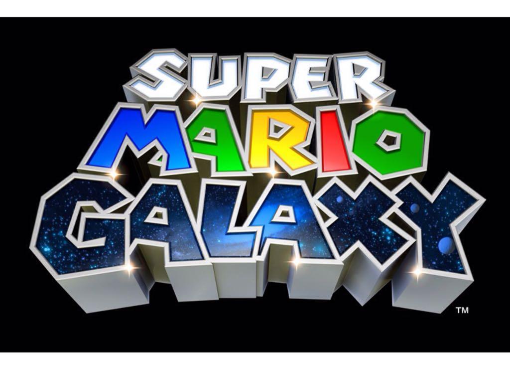 Super Mario Galaxy - Wii U Virtual Console cover