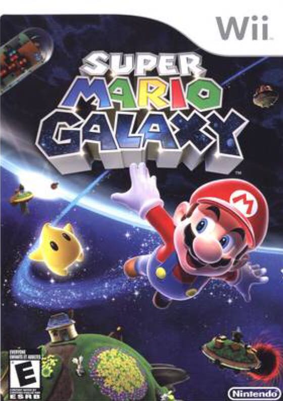 Super Mario Galaxy - Wii U cover