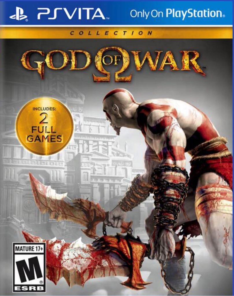 God Of War - PS Vita cover